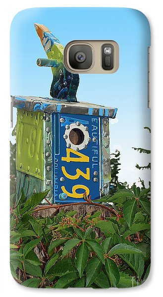 Galaxy Case featuring the photograph Bird House 439 by Bill Thomson