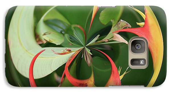 Galaxy S7 Case featuring the photograph Bird Of Paradise Orb by Bill Barber