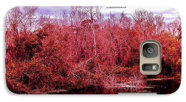 Galaxy Case featuring the photograph Bird Out On A Limb 2 by Madeline Ellis