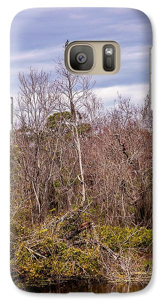 Galaxy Case featuring the photograph Bird Out On A Limb 3 by Madeline Ellis