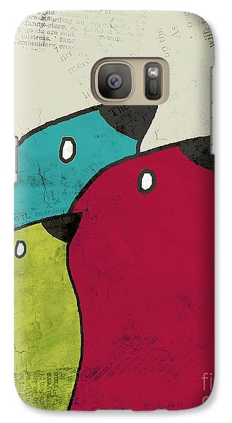 Birdies - V101s1t Galaxy S7 Case by Variance Collections