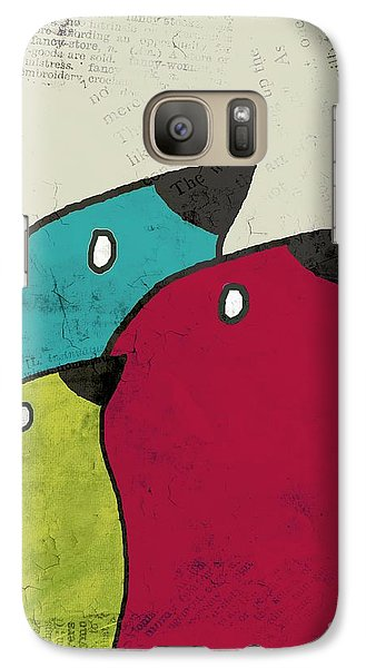 Birdies - V101s1t Galaxy Case by Variance Collections