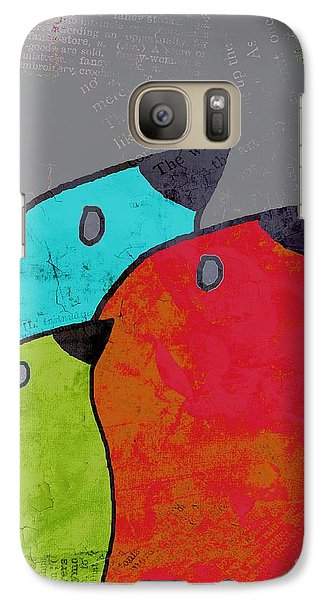 Birdies - V11b Galaxy S7 Case by Variance Collections