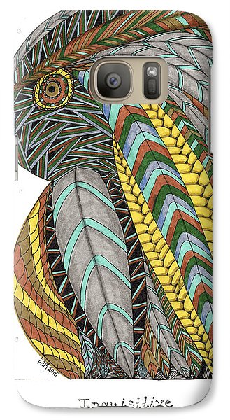 Bird_inquisitive_s007 Galaxy S7 Case