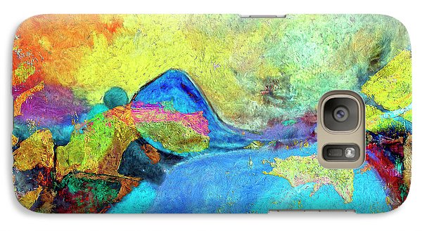 Galaxy Case featuring the painting Birdland by Dominic Piperata