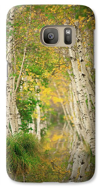 Galaxy Case featuring the photograph Birtch Row  by Emmanuel Panagiotakis