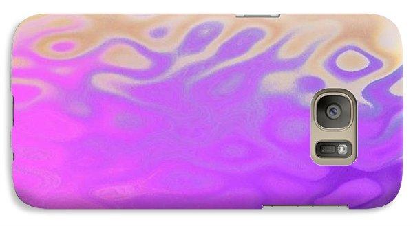 Galaxy Case featuring the digital art Birth Of Sun.morning by Dr Loifer Vladimir