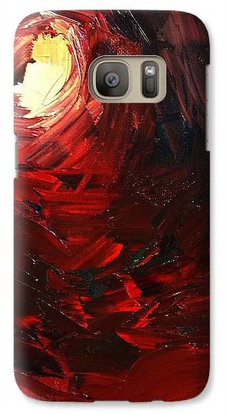 Galaxy Case featuring the painting Birth by Sheila Mcdonald