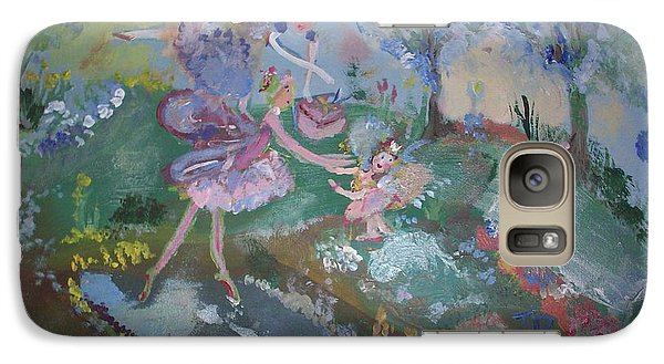 Galaxy Case featuring the painting Birthday Fairy by Judith Desrosiers