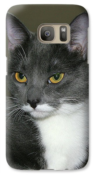Galaxy Case featuring the photograph Biscuit by Doris Potter