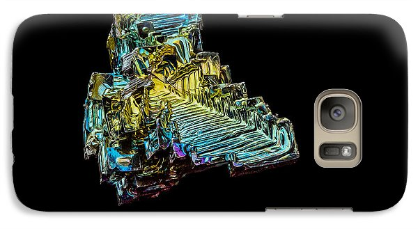 Galaxy S7 Case featuring the photograph Bismuth Crystal by Rikk Flohr