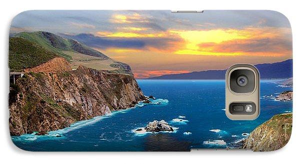 Galaxy Case featuring the photograph Bixby Creek Bridge by David Zanzinger