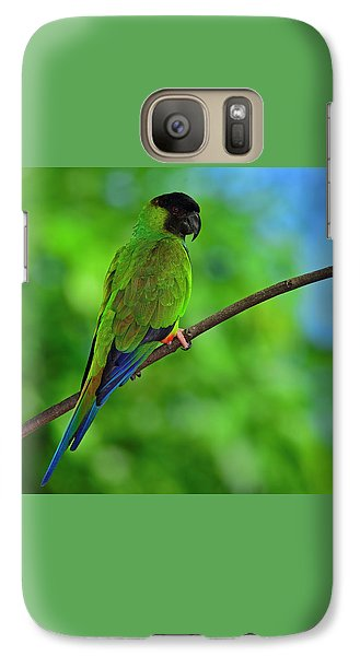 Galaxy Case featuring the photograph Black And Blue by Tony Beck