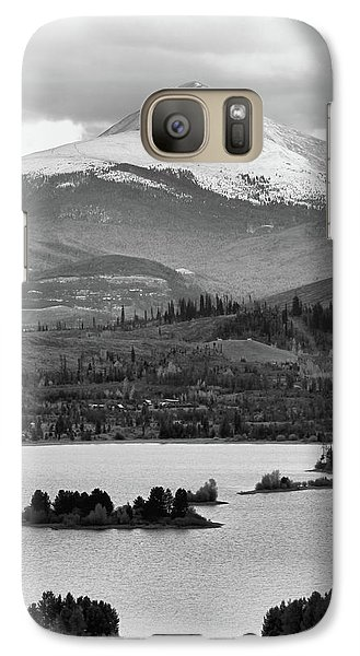 Galaxy Case featuring the photograph Black And White Breckenridge by Dan Sproul