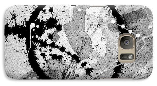 Black And White Five Galaxy S7 Case