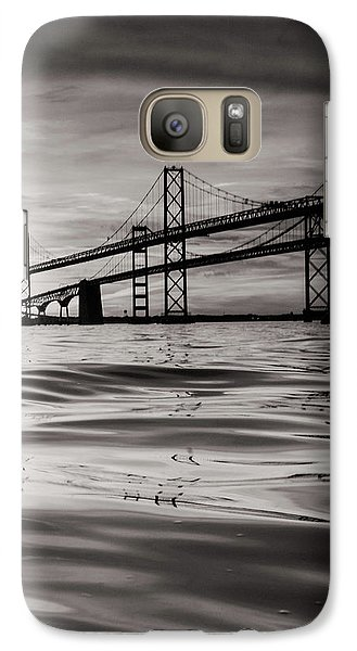 Galaxy Case featuring the photograph Black And White Reflections 2 by Jennifer Casey