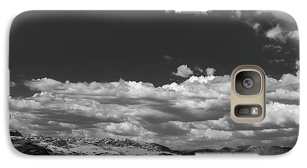 Galaxy Case featuring the photograph Black And White Small Town  by Jingjits Photography