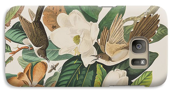 Black Billed Cuckoo Galaxy S7 Case by John James Audubon