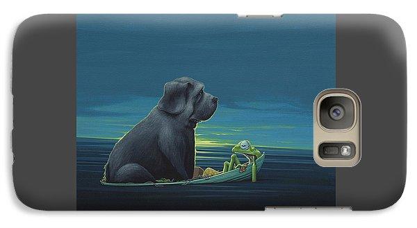 Black Dog Galaxy Case by Jasper Oostland
