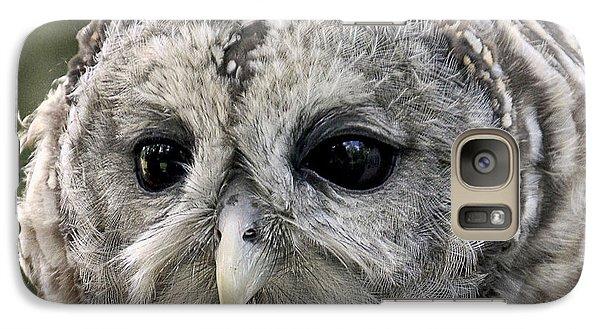 Black Eye Owl Galaxy S7 Case