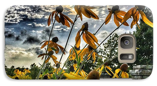 Galaxy Case featuring the photograph Black Eyed Susan by Sumoflam Photography