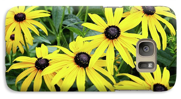 Daisy Galaxy S7 Case - Black Eyed Susans- Fine Art Photograph By Linda Woods by Linda Woods
