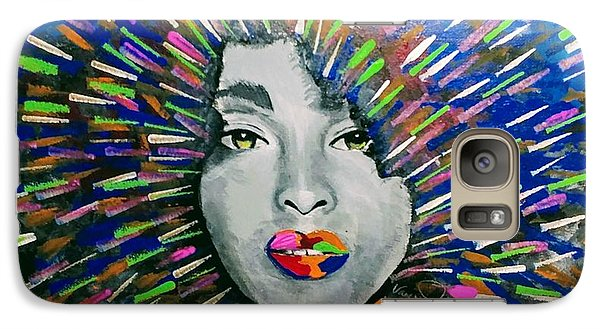 Galaxy S7 Case - Black Girl Magic by Vanessa Faith