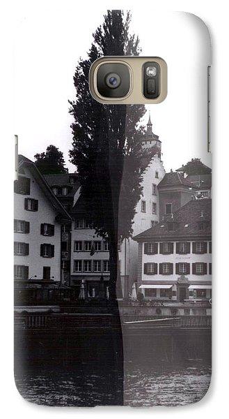 Black Lucerne Galaxy S7 Case by Christian Eberli