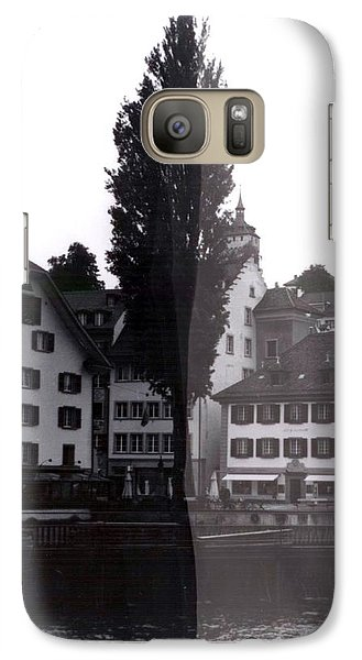 Black Lucerne Galaxy Case by Christian Eberli