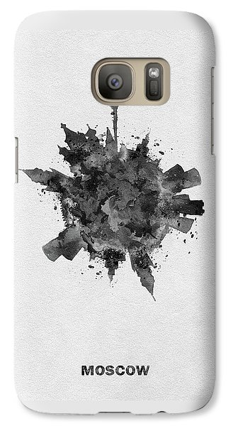 Black Skyround Art Of Moscow, Russia Galaxy S7 Case