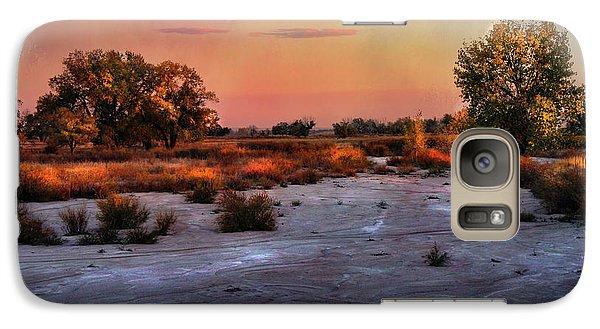 Galaxy Case featuring the photograph Black Squirrel Creek Fall Scape by Ellen Heaverlo