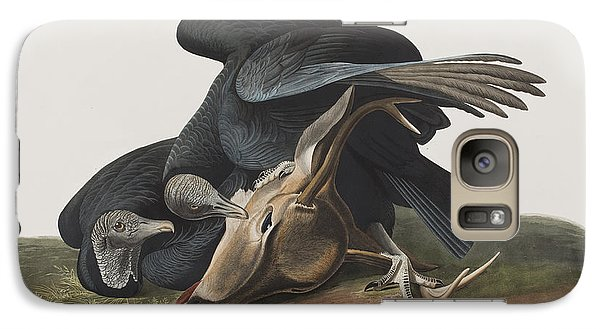 Vulture Galaxy S7 Case - Black Vulture Or Carrion Crow by John James Audubon