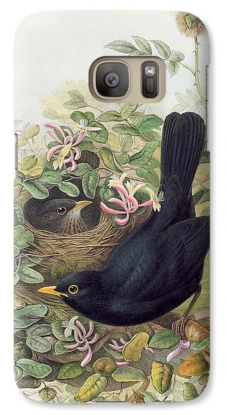 Blackbird,  Galaxy Case by John Gould