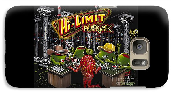Martini Galaxy S7 Case - Blackjack Pimps by Michael Godard