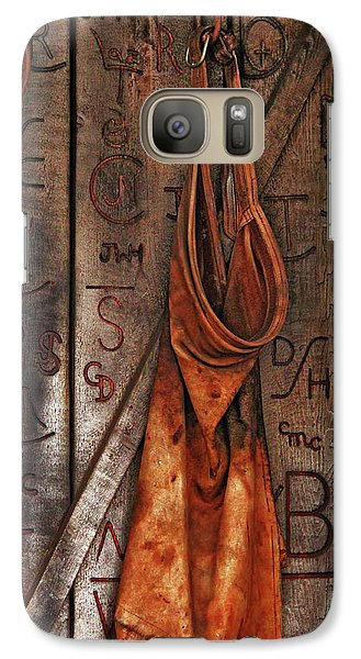 Galaxy Case featuring the photograph Blacksmith Apron by Rowana Ray