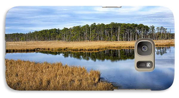 Galaxy Case featuring the photograph Blackwater National Wildlife Refuge In Maryland by Brendan Reals
