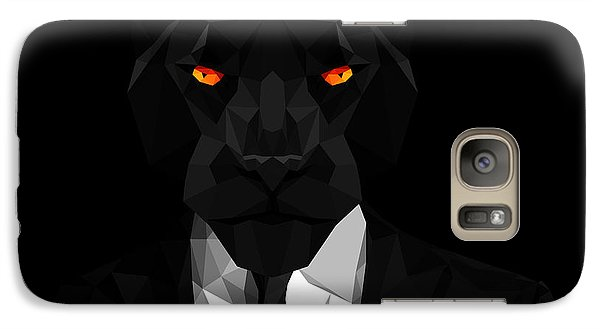 Blacl Panther Galaxy S7 Case by Gallini Design