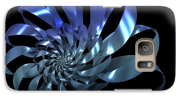 Galaxy Case featuring the digital art Blades by Manny Lorenzo