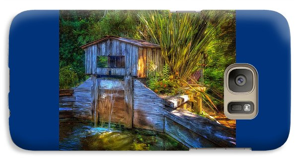 Galaxy Case featuring the photograph Blakes Pond House by Thom Zehrfeld