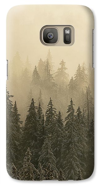 Galaxy Case featuring the photograph Blanket Of Back-lit Fog by Dustin LeFevre