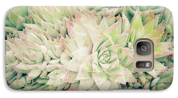 Galaxy S7 Case featuring the photograph Blanket Of Succulents by Ana V Ramirez
