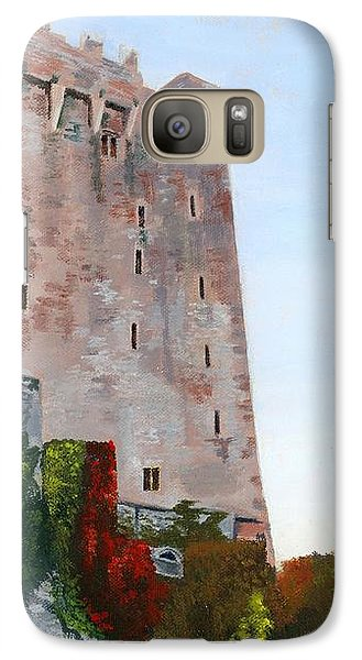 Galaxy Case featuring the painting Blarney Castle by Lynne Reichhart