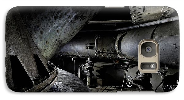 Galaxy Case featuring the photograph Blast Furnace Piping by Dirk Ercken