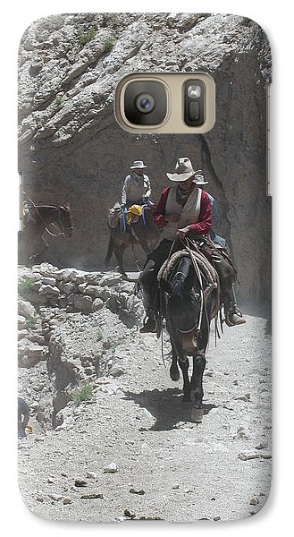 Galaxy Case featuring the photograph Blazing The Trail by Nancy Taylor