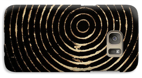 Galaxy Case featuring the photograph Bleached Circles by Cynthia Powell