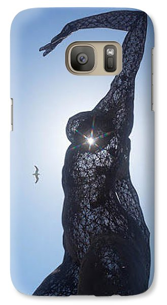 Galaxy Case featuring the photograph Bliss Dancer by Lora Lee Chapman