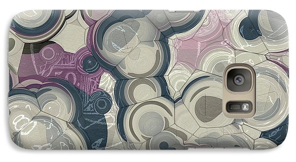 Galaxy Case featuring the digital art Blobs - 01c01 by Variance Collections