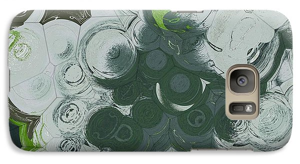 Galaxy Case featuring the digital art Blobs - 13c9b by Variance Collections