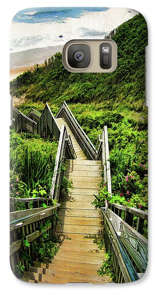 Landscape Galaxy S7 Case - Block Island by Lourry Legarde