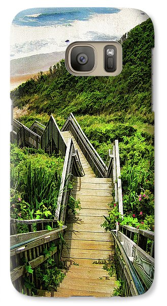 Landscapes Galaxy S7 Case - Block Island by Lourry Legarde